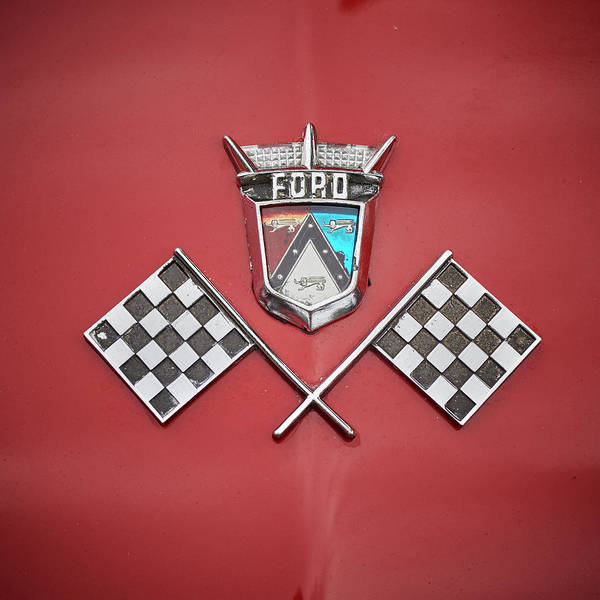 Wall Art - Photograph - Ford Hood by Paul Freidlund