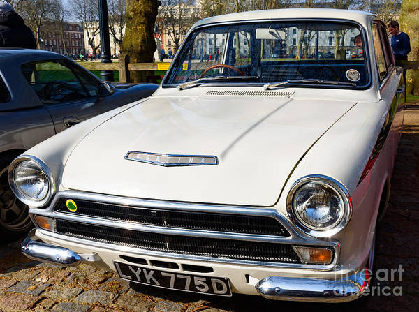 Photograph - Ford Lotus Cortina by Colin Rayner