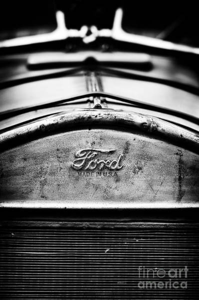 Street Rod Photograph - Ford Made In Usa  by Tim Gainey