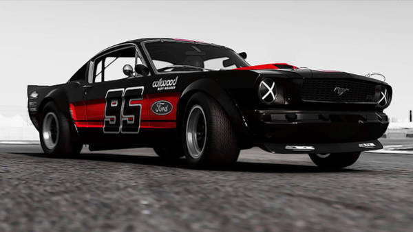 Photograph - Ford Mustang Rtr 1966 - 8 by Andrea Mazzocchetti