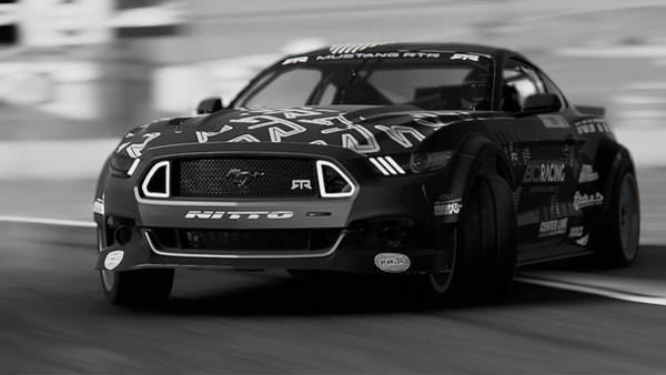 Photograph - Ford Mustang Rtr, 2017 - 33 by Andrea Mazzocchetti