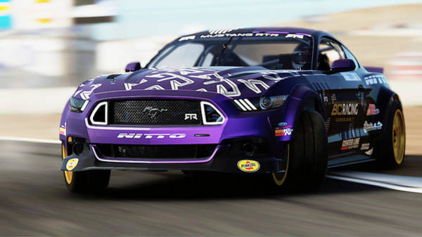 Photograph - Ford Mustang Rtr, 2017 - 34 by Andrea Mazzocchetti