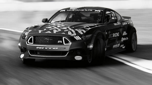 Photograph - Ford Mustang Rtr, 2017 - 37 by Andrea Mazzocchetti