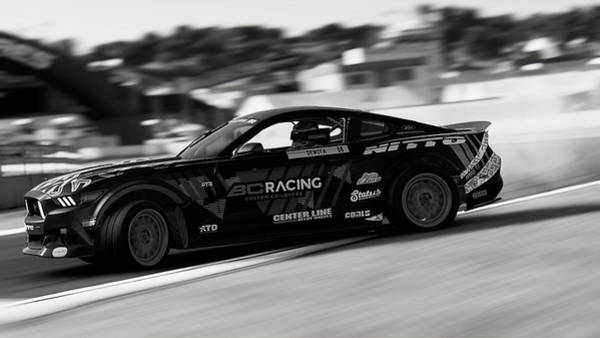 Photograph - Ford Mustang Rtr, 2017 - 43 by Andrea Mazzocchetti