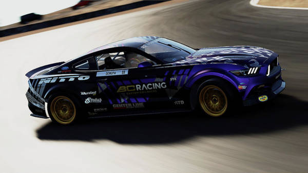 Photograph - Ford Mustang Rtr, 2017 - 46 by Andrea Mazzocchetti