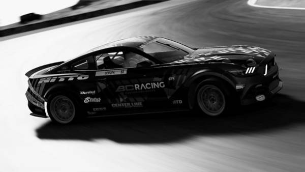 Photograph - Ford Mustang Rtr, 2017 - 47 by Andrea Mazzocchetti