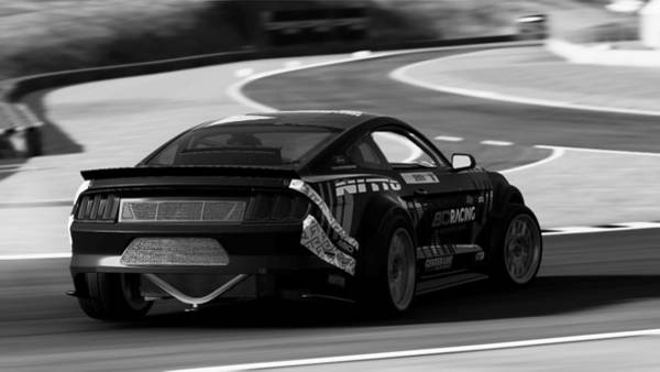 Photograph - Ford Mustang Rtr, 2017 - 51 by Andrea Mazzocchetti