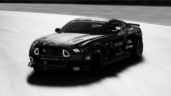 Photograph - Ford Mustang Rtr, 2017 - 52 by Andrea Mazzocchetti