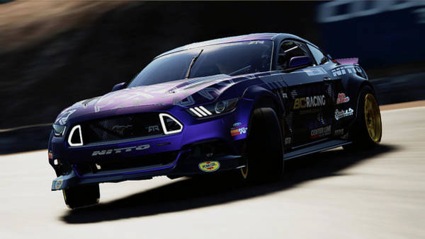 Photograph - Ford Mustang Rtr, 2017 - 54 by Andrea Mazzocchetti