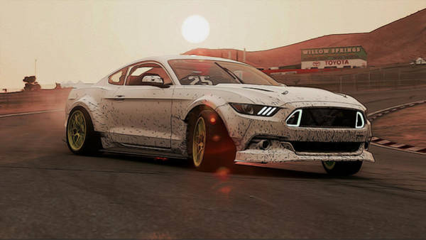 Photograph - Ford Mustang Rtr Spec 5d - 4 by Andrea Mazzocchetti