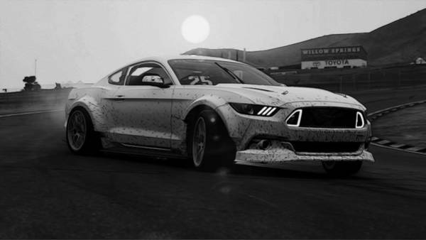 Photograph - Ford Mustang Rtr Spec 5d - 5 by Andrea Mazzocchetti