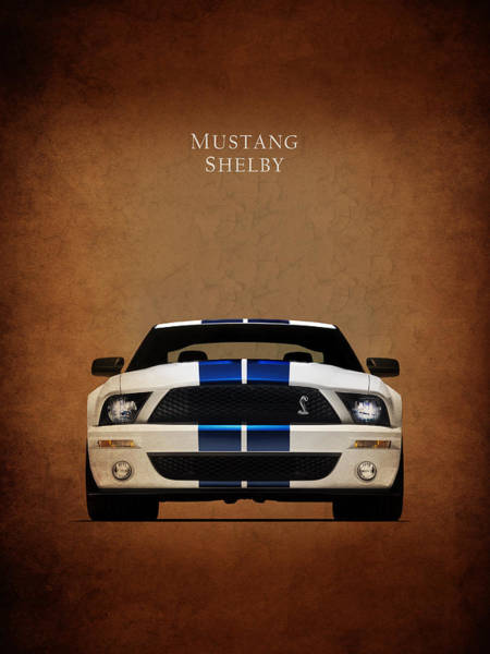 Wall Art - Photograph - Ford Mustang Shelby 06 by Mark Rogan