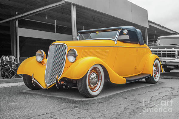 Photograph - Ford Roadster by Tony Baca