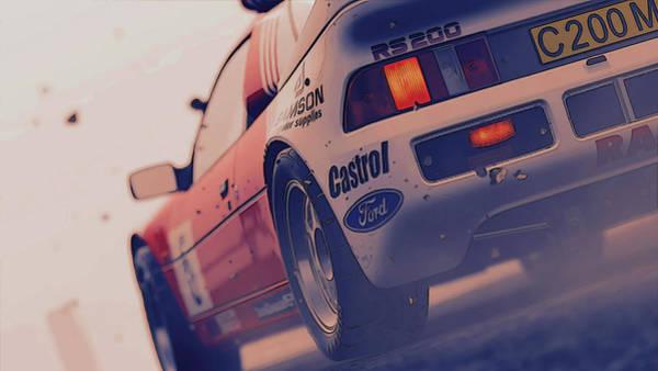 Photograph - Ford Rs200 Evo - 6 by Andrea Mazzocchetti