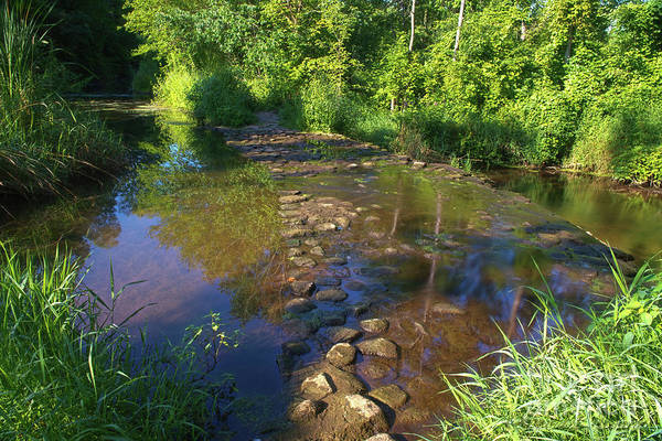 Bonneyville Mill Wall Art - Photograph - Ford The Stream by David Arment
