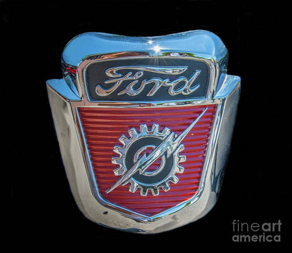 Photograph - Ford by Tony Baca