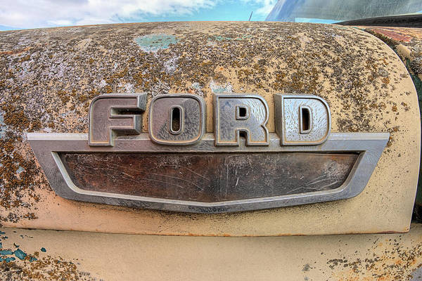 Photograph - Ford Tough Pickups by JC Findley
