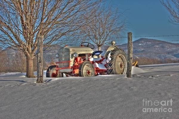 Rockbridge County Photograph - Ford Tractor by Todd Hostetter
