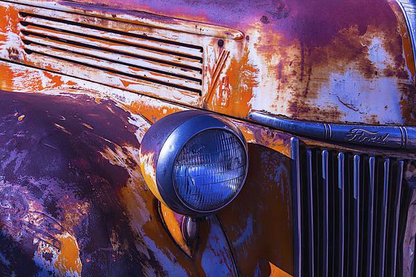 Junker Wall Art - Photograph - Ford Truck by Garry Gay