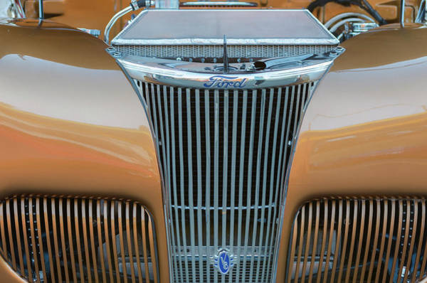Photograph - Ford V8 by Jim Shackett