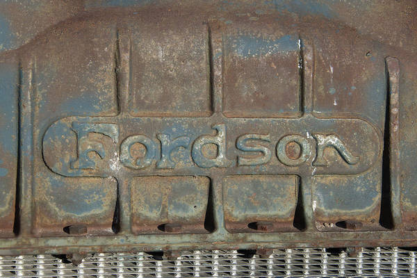 Digital Art - Fordson Truck by Ramona Murdock