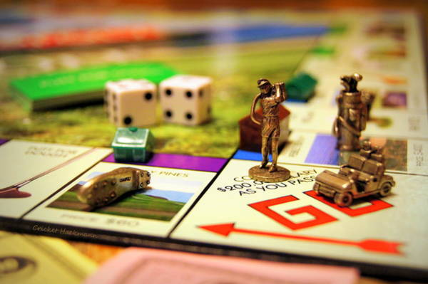 Monopoly Photograph - Fore by Cricket Hackmann