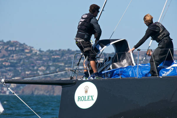 Photograph - Foredeck by Steven Lapkin