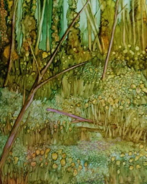 Painting - Forest Deep by Betsy Carlson Cross