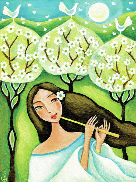 Painting - Forest Melody by Eva Campbell
