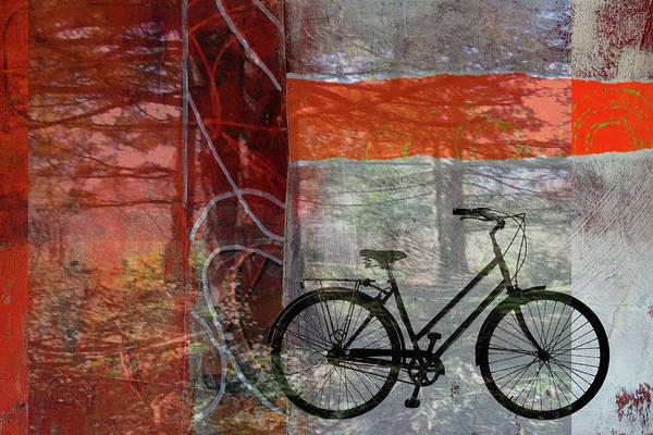 Wall Art - Digital Art - Forest Ride by Nancy Merkle