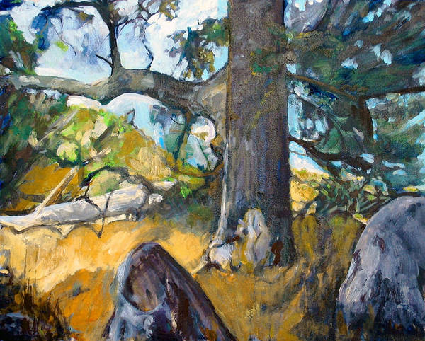 Painting - Forest, Santa Rosa Plateau by Kathleen Barnes