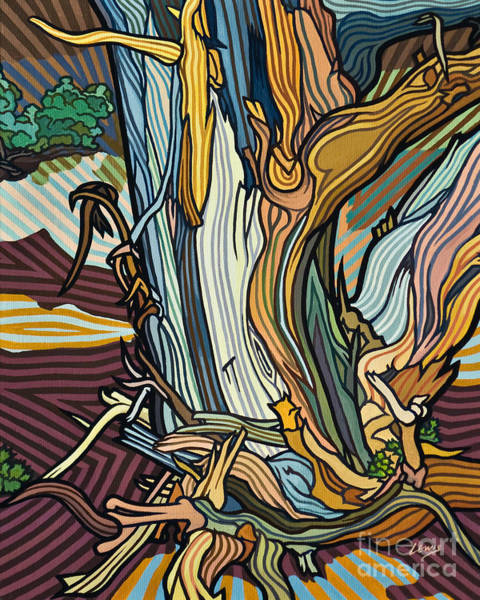 Painting - Forest Sing For Joy - Lwfsj by Lewis Williams OFS