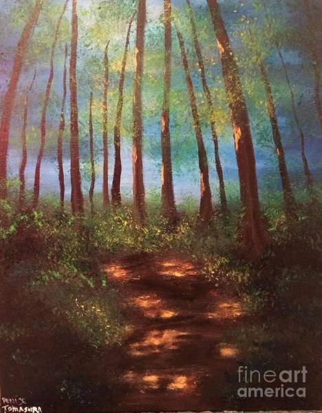 Painting - Forests Glow by Denise Tomasura