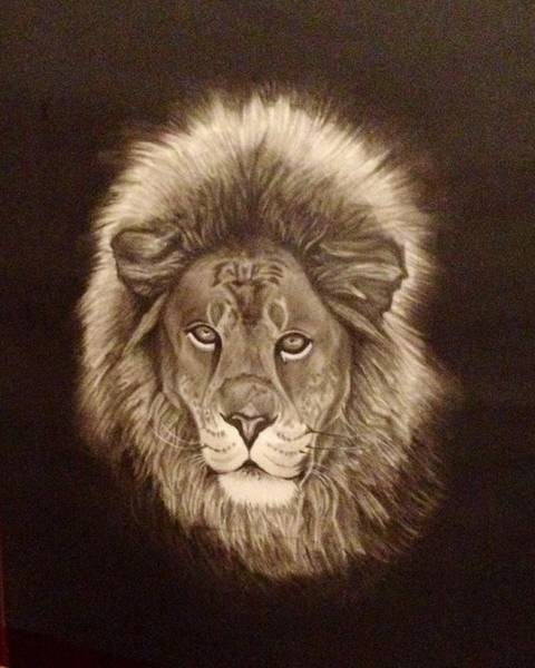 Painting - Forever A King by Elizabeth Mundaden