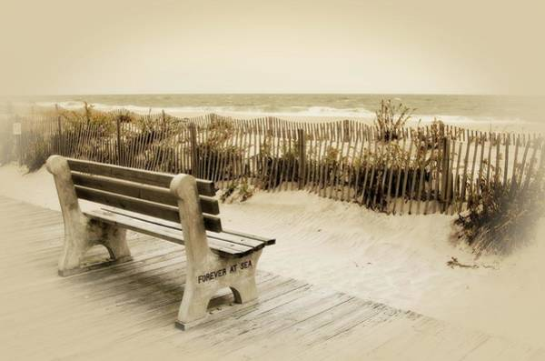Photograph - Forever At Sea - Jersey Shore by Angie Tirado