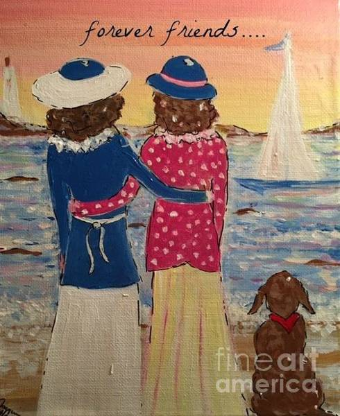 Painting - Forever Friends by Jacqui Hawk