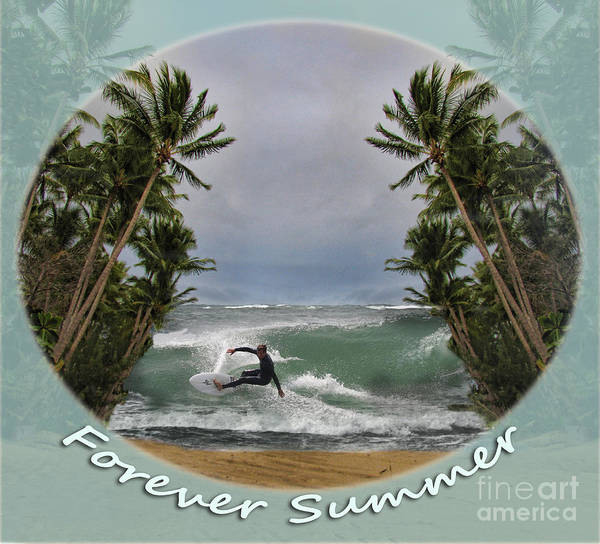 Wall Art - Photograph - Forever Summer 2 by Linda Lees