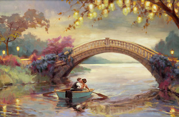 Bedroom Decor Wall Art - Painting - Forever Yours by Steve Henderson