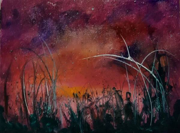 Painting - Forget The Rules Red Sky      59 by Cheryl Nancy Ann Gordon