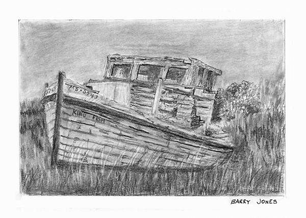 Drawing - Forgotten by Barry Jones