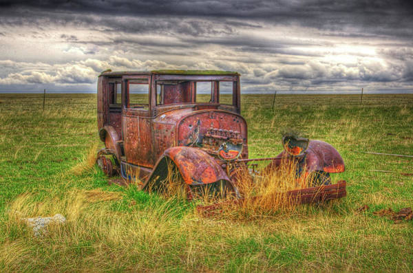 Photograph - Forgotten By Time. by Frank Vargo