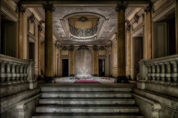 Chateau Photograph - Forgotten Chateau by Joachim G Pinkawa