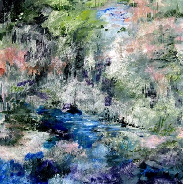 Painting - Forgotten Creek  by Adele Bower