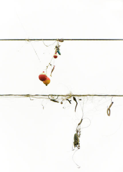 Photograph - Tangled Fishing Lures #3 by Patti Deters