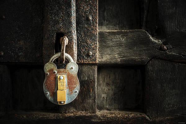 Photograph - Forgotten Lock by Ryan Wyckoff