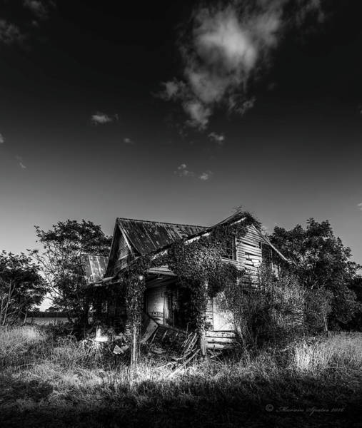 Weathering Photograph - Forgotten Memories by Marvin Spates