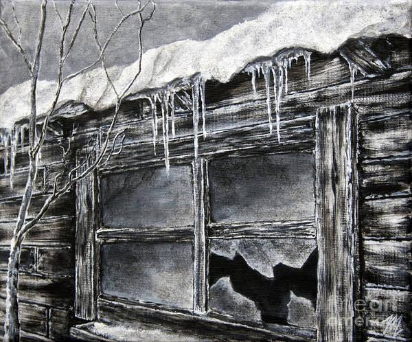 Painting - Forgotten Window by Tim Musick