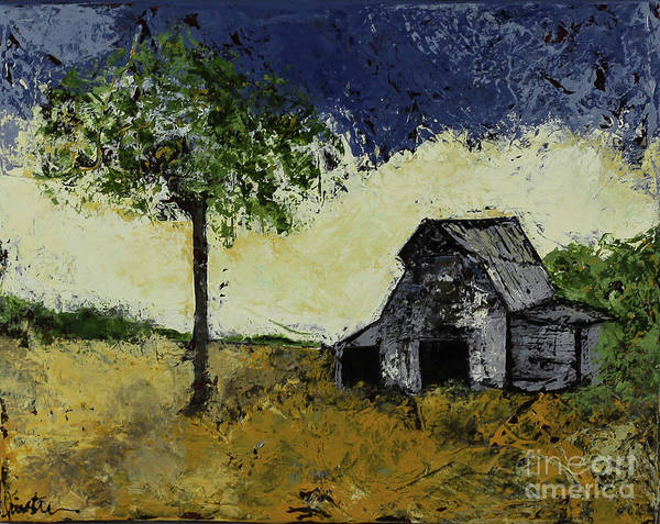 Wall Art - Painting - Forgotten Yesterday by Kirsten Reed