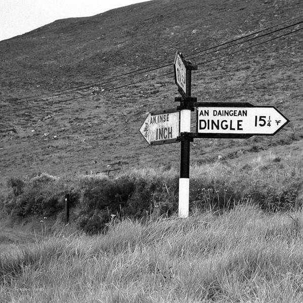 Gaelic Photograph - Fork In The Road by Gordon Wood