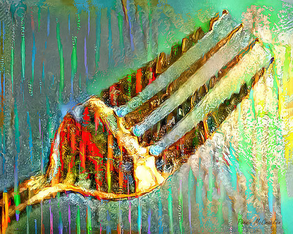 Digital Art - Fork by Pennie McCracken